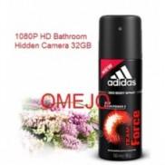 1080P Adidas Men Body Fragrance Spray Bottle Camera