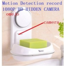 1080P HD Motion Detection Soap Box Pinhole Camera Hidden Bathroom Spy Camera DVR