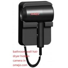 Spy Camera in Bathroom wall hair dryer shower spy camera